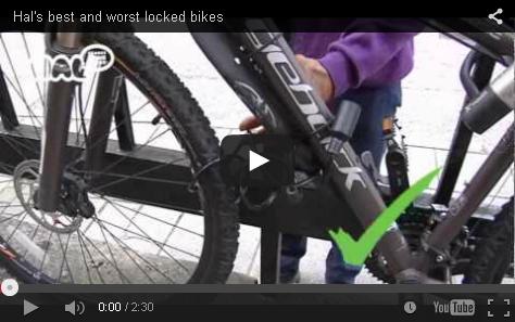"""Vídeo """"formas de candar mejor y peor tu bici"""""""