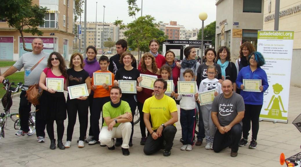 Entrega de Diplomas del Aula de la Bici