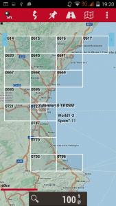 Índice de mapas offline de Oruxmaps
