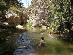 Baños en Olba