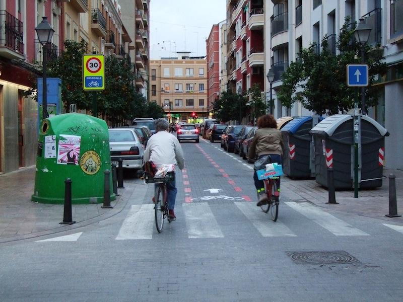 foto ciclocalle Benimaclet