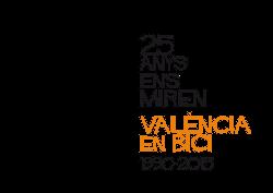 Logo 25 Aniversario de València en Bici