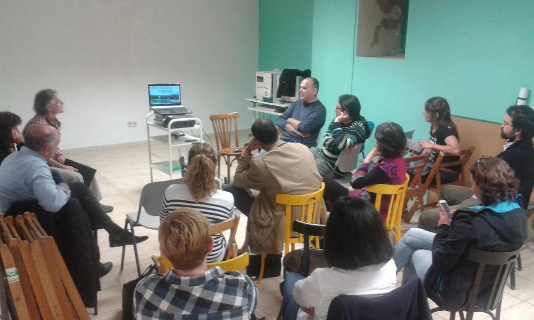 Foto de la charla Parlem de l'Horta