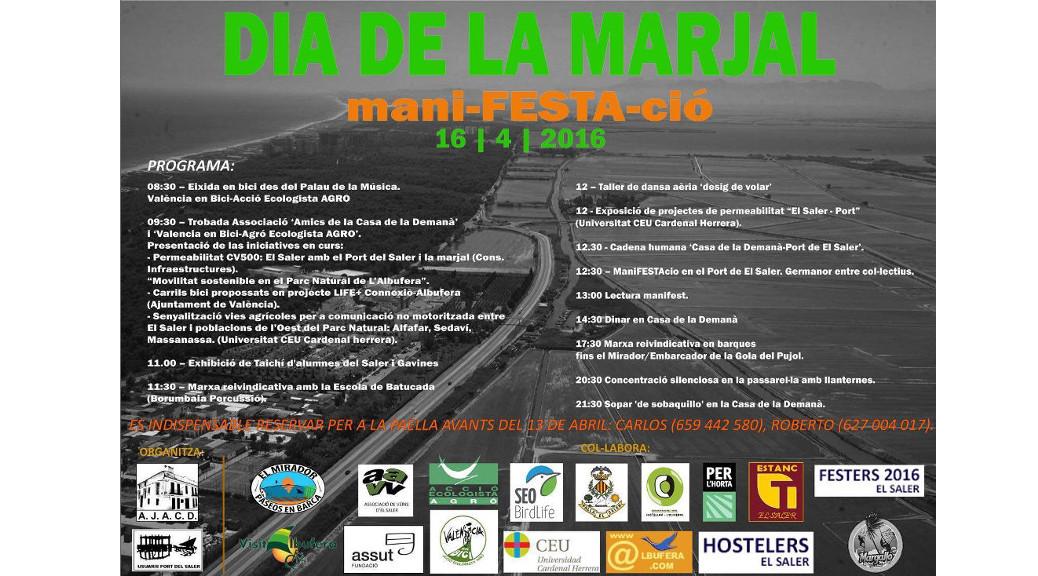 Dia de la Marjal - Bicifestació